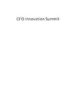 CI2O INNOVATION SUMMIT