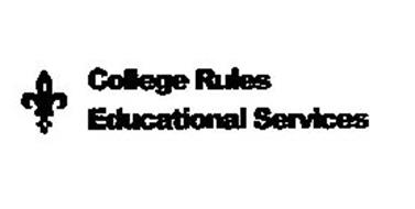 COLLEGE RULES EDUCATIONAL SERVICES