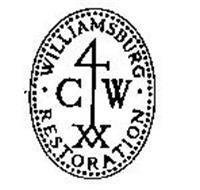 WILLIAMSBURG-4 CW XX-RESTORATION