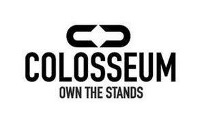 C C COLOSSEUM OWN THE STANDS