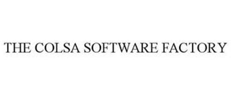 THE COLSA SOFTWARE FACTORY