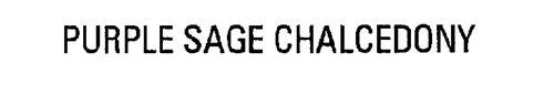 PURPLE SAGE CHALCEDONY