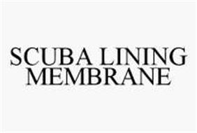 SCUBA LINING MEMBRANE