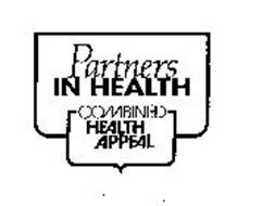 PARTNERS IN HEALTH COMBINED HEALTH APPEAL