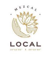 """MEZCAL LOCAL 16º55'00"""" 96º29'00"""""""