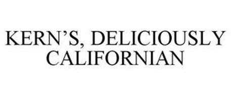 KERN'S, DELICIOUSLY CALIFORNIAN