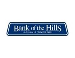 BANK OF THE HILLS A DIVISION OF COMERICA BANK