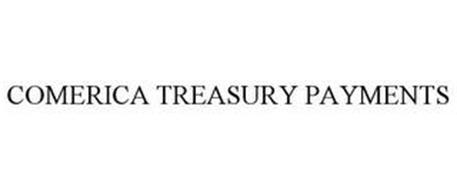 COMERICA TREASURY PAYMENTS
