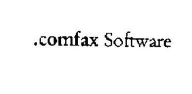 .COMFAX SOFTWARE