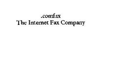 .COMFAX THE INTERNET FAX COMPANY