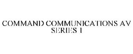 COMMAND COMMUNICATIONS AV SERIES 1