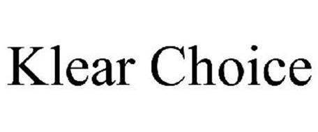 KLEAR CHOICE