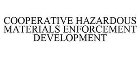 COOPERATIVE HAZARDOUS MATERIALS ENFORCEMENT DEVELOPMENT