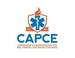 CAPCE COMMISSION ON ACCEDITATION FOR PRE-HOSPITAL CONTINUING EDUCATION ESTABLISHED NINETEEN NINETY TWO
