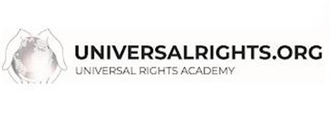 UNIVERSALRIGHTS.ORG UNIVERSAL RIGHTS ACADEMY