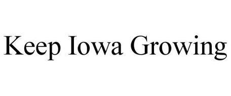 KEEP IOWA GROWING