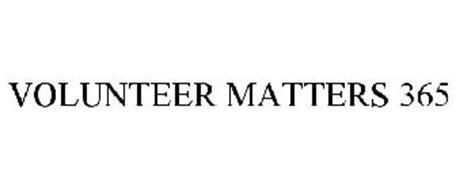VOLUNTEER MATTERS 365