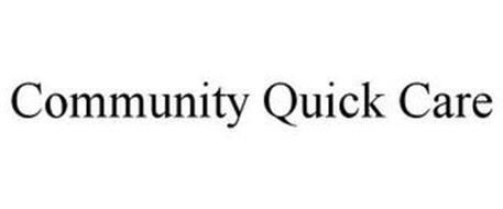 COMMUNITY QUICK CARE