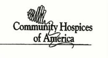 COMMUNITY HOSPICES OF AMERICA