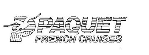 P PAQUET FRENCH CRUISES