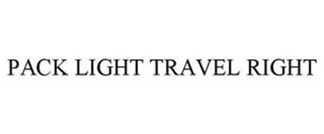PACK LIGHT TRAVEL RIGHT