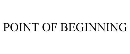 POINT OF BEGINNING
