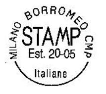 MILANO BORROMEO CMP STAMP EST. 20-05 ITALIANE