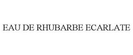 EAU DE RHUBARBE ECARLATE