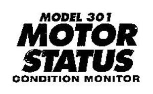 MODEL 301 MOTOR STATUS CONDITION MONITOR