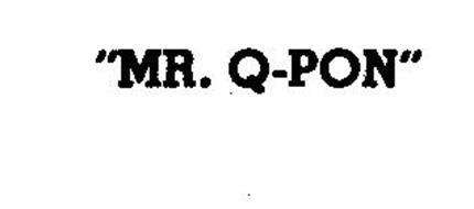 """MR. Q-PON"""