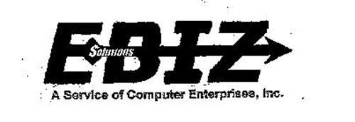 EBIZ SOLUTIONS A SERVICE OF COMPUTER ENTERPRISES, INC.