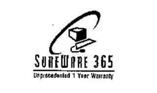 SUREWARE 365 UNPRECEDENTED 1 YEAR WARRANTY
