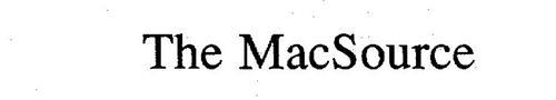 THE MACSOURCE
