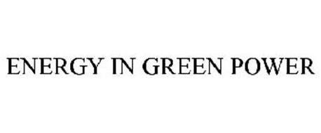 ENERGY IN GREEN POWER
