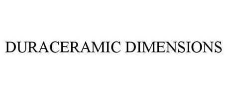 DURACERAMIC DIMENSIONS
