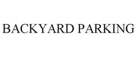 BACKYARD PARKING