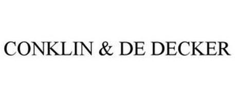 CONKLIN & DE DECKER
