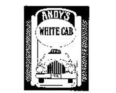 ANDY'S WHITE CAB TAXI 1988