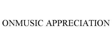 ONMUSIC APPRECIATION
