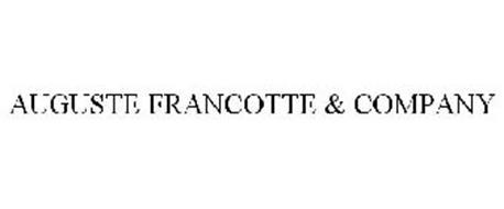 AUGUSTE FRANCOTTE & COMPANY