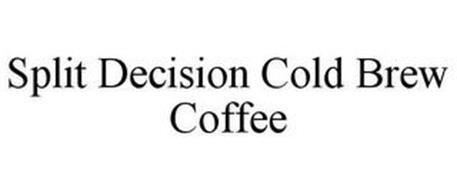 SPLIT DECISION COLD BREW COFFEE