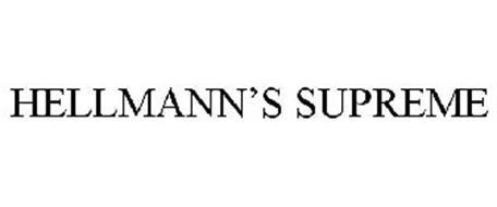 HELLMANN'S SUPREME