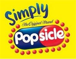 SIMPLY THE ORIGINAL BRAND POPSICLE