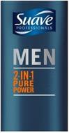 SUAVE PROFESSIONALS MEN 2-IN-1 PURE POWER