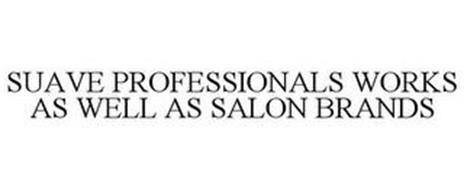 SUAVE PROFESSIONALS WORKS AS WELL AS SALON BRANDS