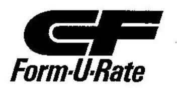 CF FORM-U-RATE