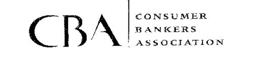 CBA CONSUMER BANKERS ASSOCIATION