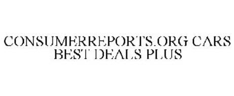 CONSUMERREPORTS.ORG CARS BEST DEALS PLUS