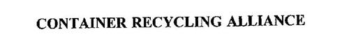 CONTAINER RECYCLING ALLIANCE