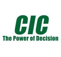 CIC THE POWER OF DECISION